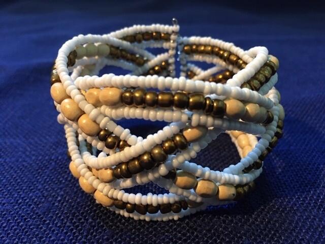 Balinese Beaded Bracelet/ Kralen Armband uit Bali