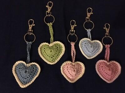 Love Heart Keyring/ Sleutelhanger Hartje