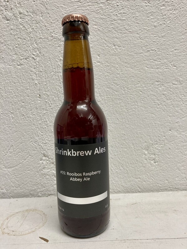 Batch # 55: Rooibos Raspberry Abbey ale 6.3% in 3dl Flasche