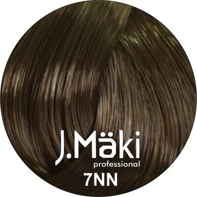 J.Maki Стойкий краситель для волос 7NN Русый интенсивный 60 мл (J.Mäki Professional)
