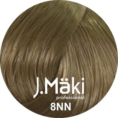 J.Maki Стойкий краситель для волос 8NN Светло-русый интенсивный 60 мл (J.Mäki Professional)
