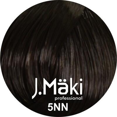J.Maki Стойкий краситель для волос 5NN Светло-коричневый интенсивный 60 мл (J.Mäki Professional)