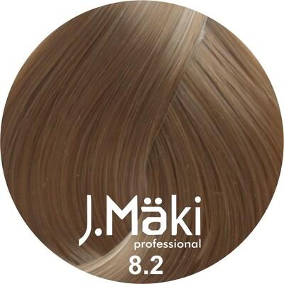 J.Maki Стойкий краситель для волос 8.2 Жемчужный светло-русый 60 мл (J.Mäki Professional)
