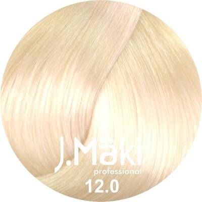 J.Maki СУПЕРОСВЕТЛЯЮЩАЯ СЕРИЯ 12.0 Суперблонд натуральный 60 мл (J.Mäki Professional)