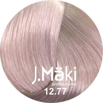 J.Maki СУПЕРОСВЕТЛЯЮЩАЯ СЕРИЯ 12.77 Суперблонд интенсивный фиолетовый 60 мл (J.Mäki Professional)