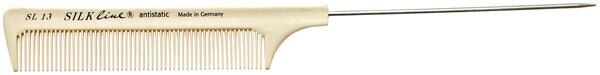 Расчёска силиконовая с металлическим хвостиком