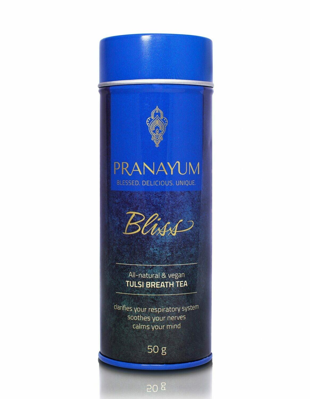 PRANAYUM SACRED TEA – BLISS (TULSI BREATH TEA) NATURAL