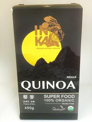 Quinoa Mixed - 100% Organic - Product of Peru - 450gms
