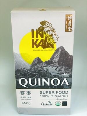 Quinoa - White 100% Organic - Product of Peru - 450gms