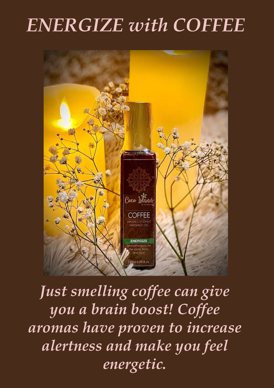 Coffee - Virgin Coconut Massage Oil