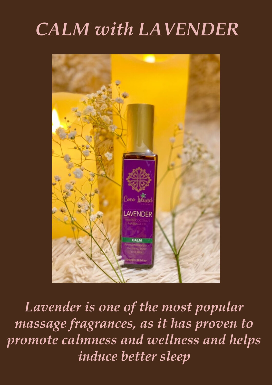 Lavender - Virgin Coconut Massage Oil