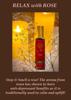 Rose - Virgin Coconut Massage Oil