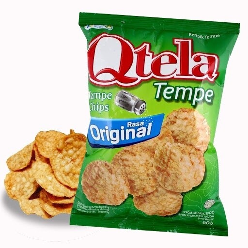 Soya Bean (Tempeh) & Sweet Potato Chips 55gms