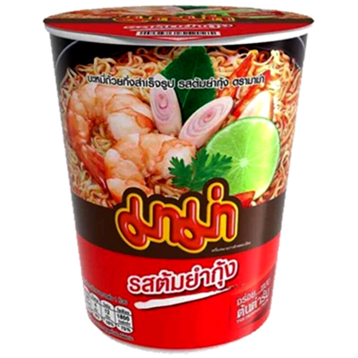 MAMA TOM YUM CUP NOODLE