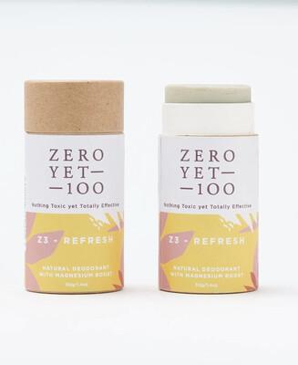 Deodorant Push-up Paper Stick 50gms Z3 Refresh