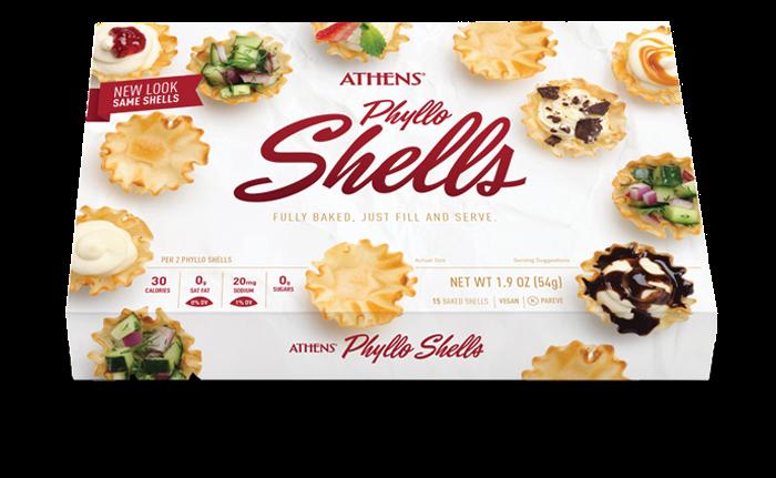 "Mini Phyllo Shells, 1"" Traditional"