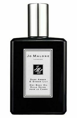 Jo Malone London Dry Body Oil Dark Amber & Ginger Lily 100ML