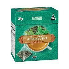 Green Tea Hortela 20 Bags