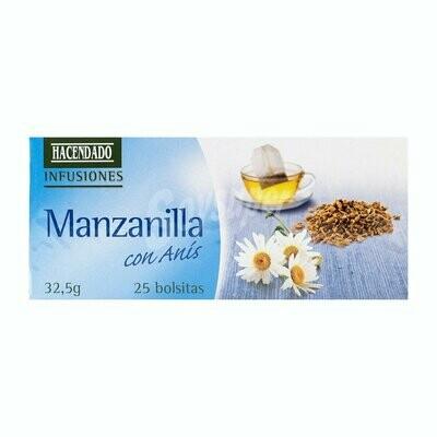 Manzanilla Con Anis (Chamomile Tea with Aniseed)