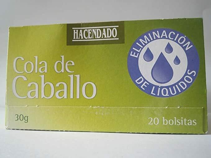 Horsetail Tea - HACENDADO 20 Bags