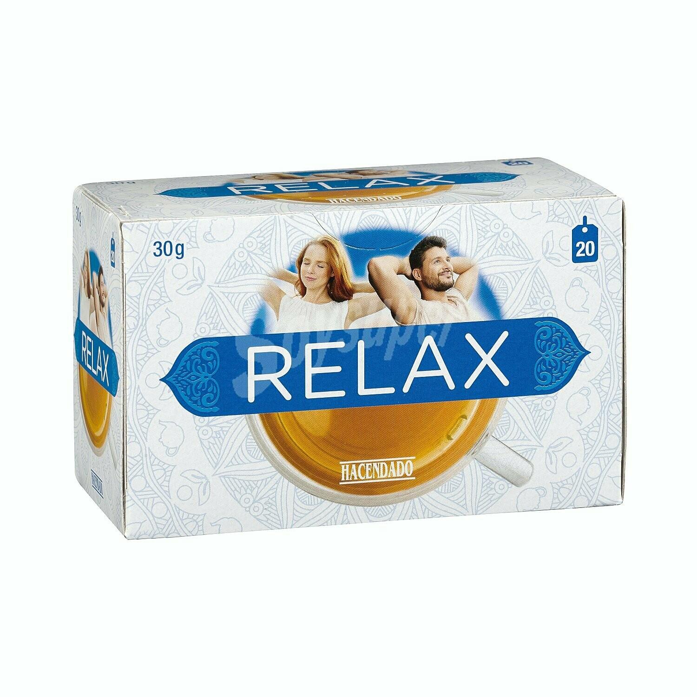 Relax Tea Hacendado 20 Bags