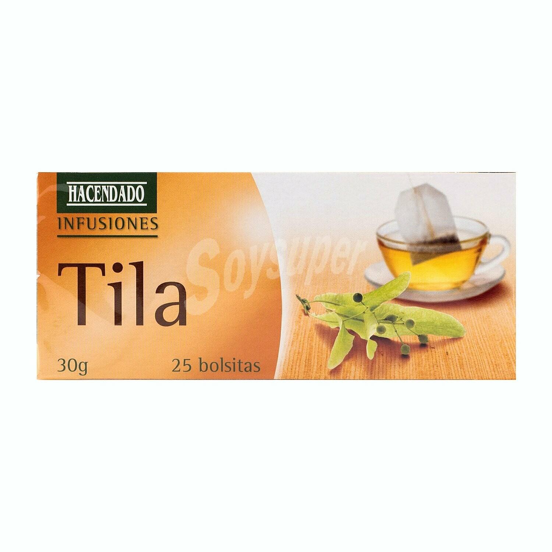 TILIA TEA / LINDEN TEA - Hacendado 25 Bags