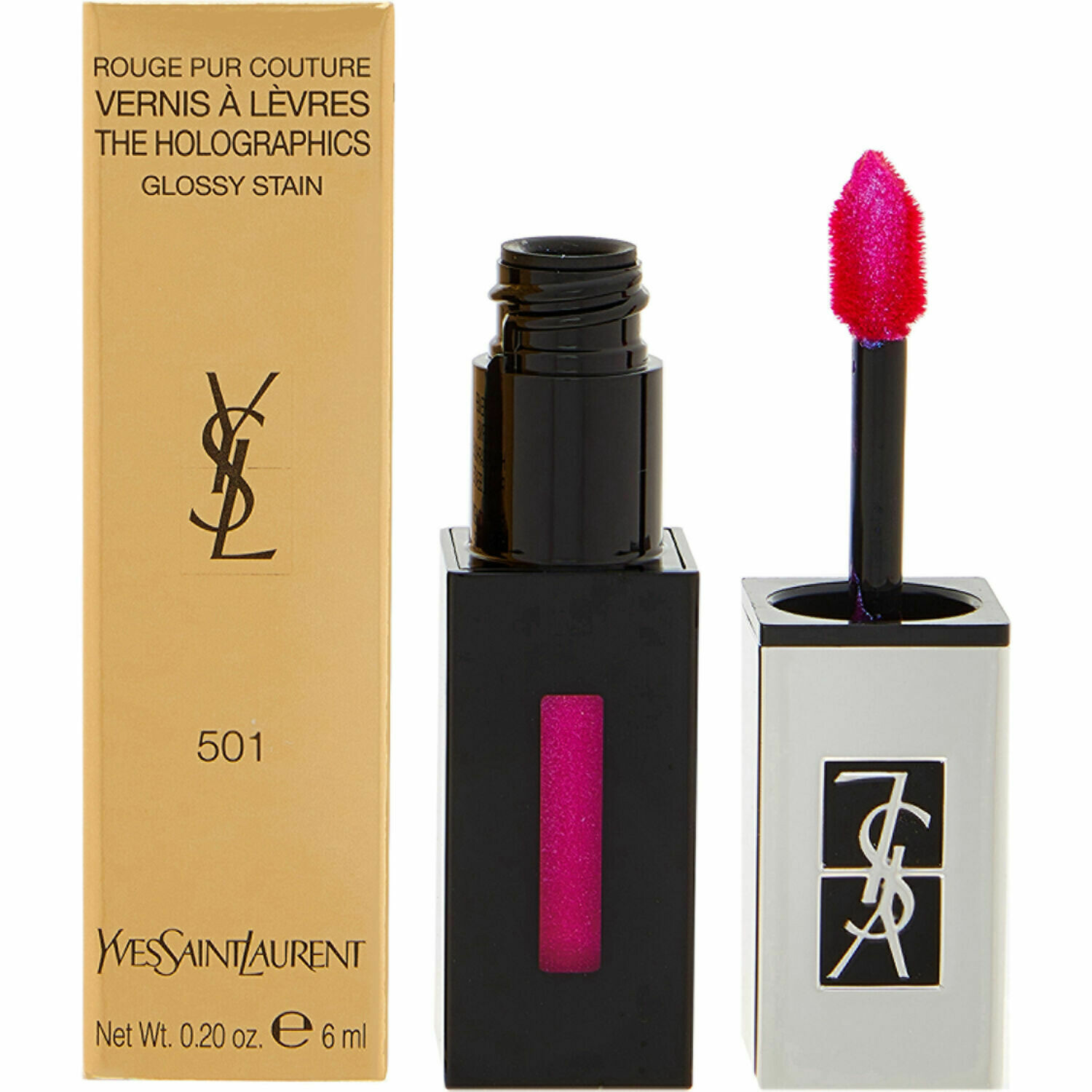 YSL Rouge Pur Couture The Holographics 6ml Glossy Stain