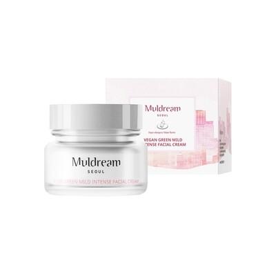 Muldream Vegan Green Mild Intense Facial Cream 60g