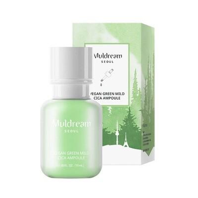 Muldream Vegan Green mild CICA Ampoule 55ml