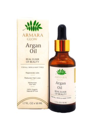 100% Organic Argan Oil 50ml