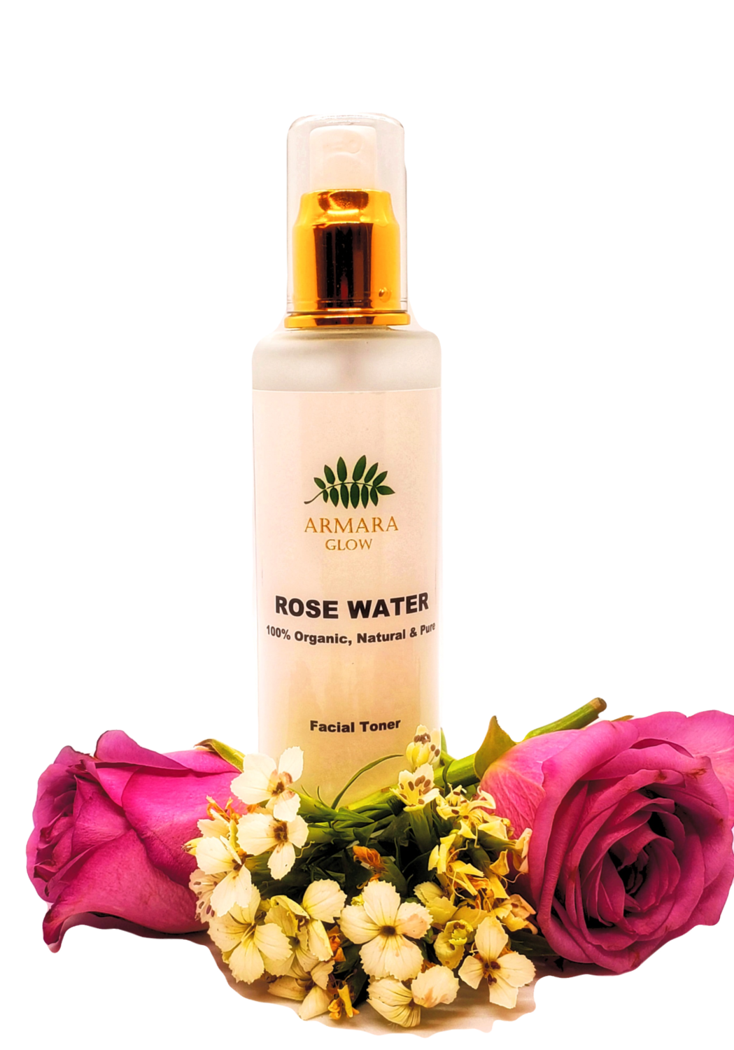 Pure and Organic Rose Water 100ml