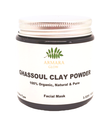 Organic Moroccan Ghassoul Clay Powder