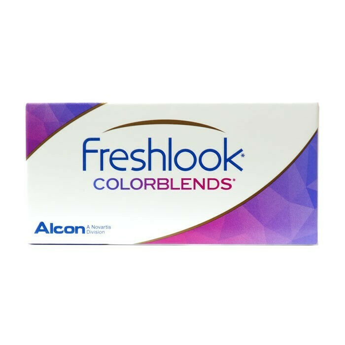 Colored Contact Lenses - Freshlook Colorblends 2pk BC 8.6 Dia 14.5 - Bi Weekly Lenses - 2pcs Per Box