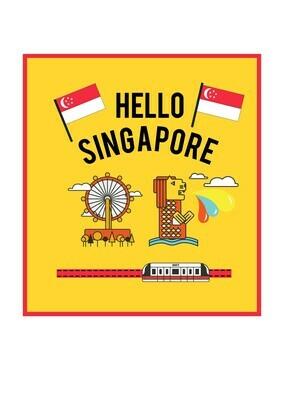 Singapore Theme Book