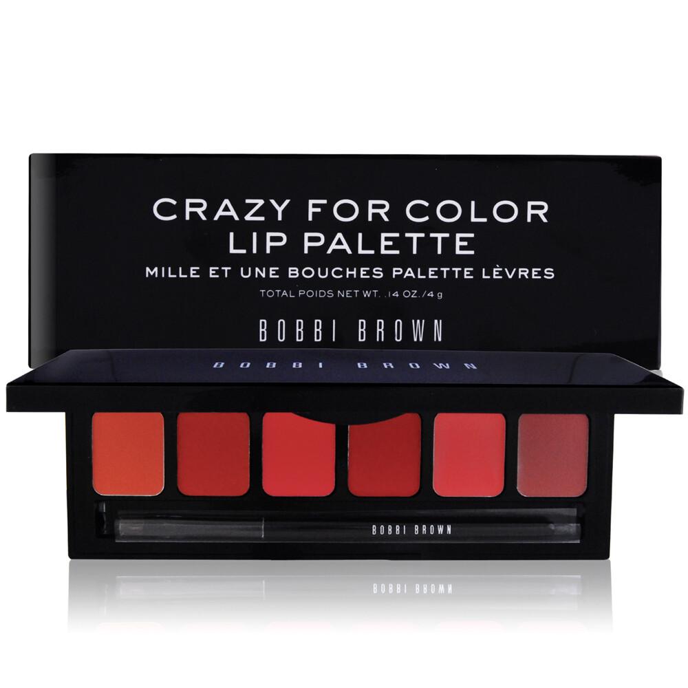 Bobbi Brown Crazy For Color Lip Pallette