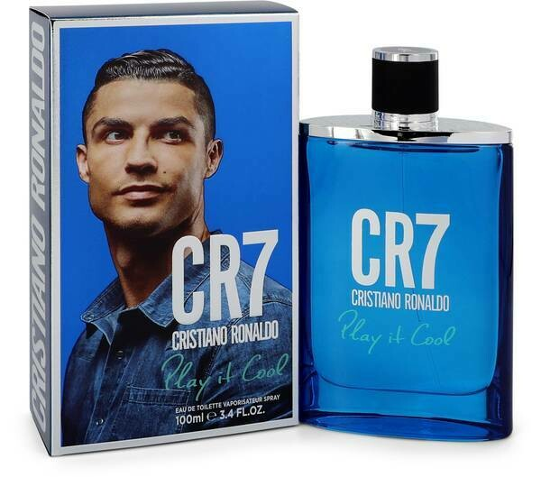 CR7 Christiano Ronaldo Blue Eau De Toilette 100ml