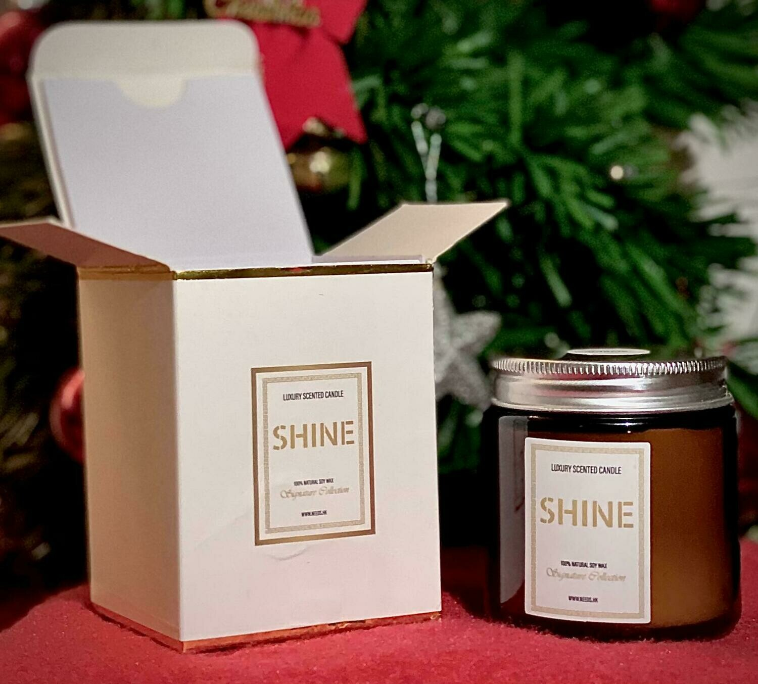 Luxury  Scented Candle 100% Natural Soy Wax