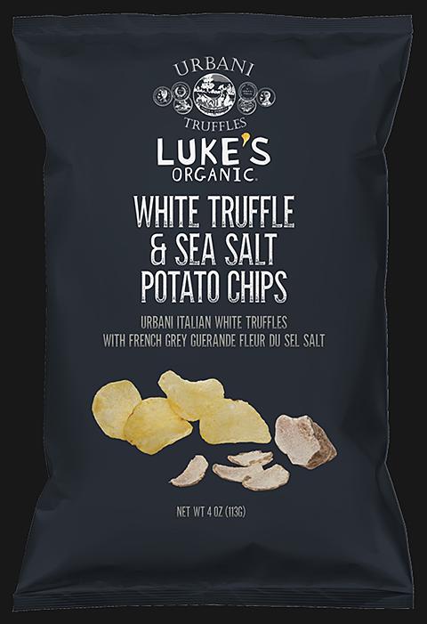 Luke's Organic White Truffle & Sea Salt Potato Chips 113G