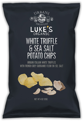 Luke's Organic White Truffle & Sea Salt Potato Chips 113G