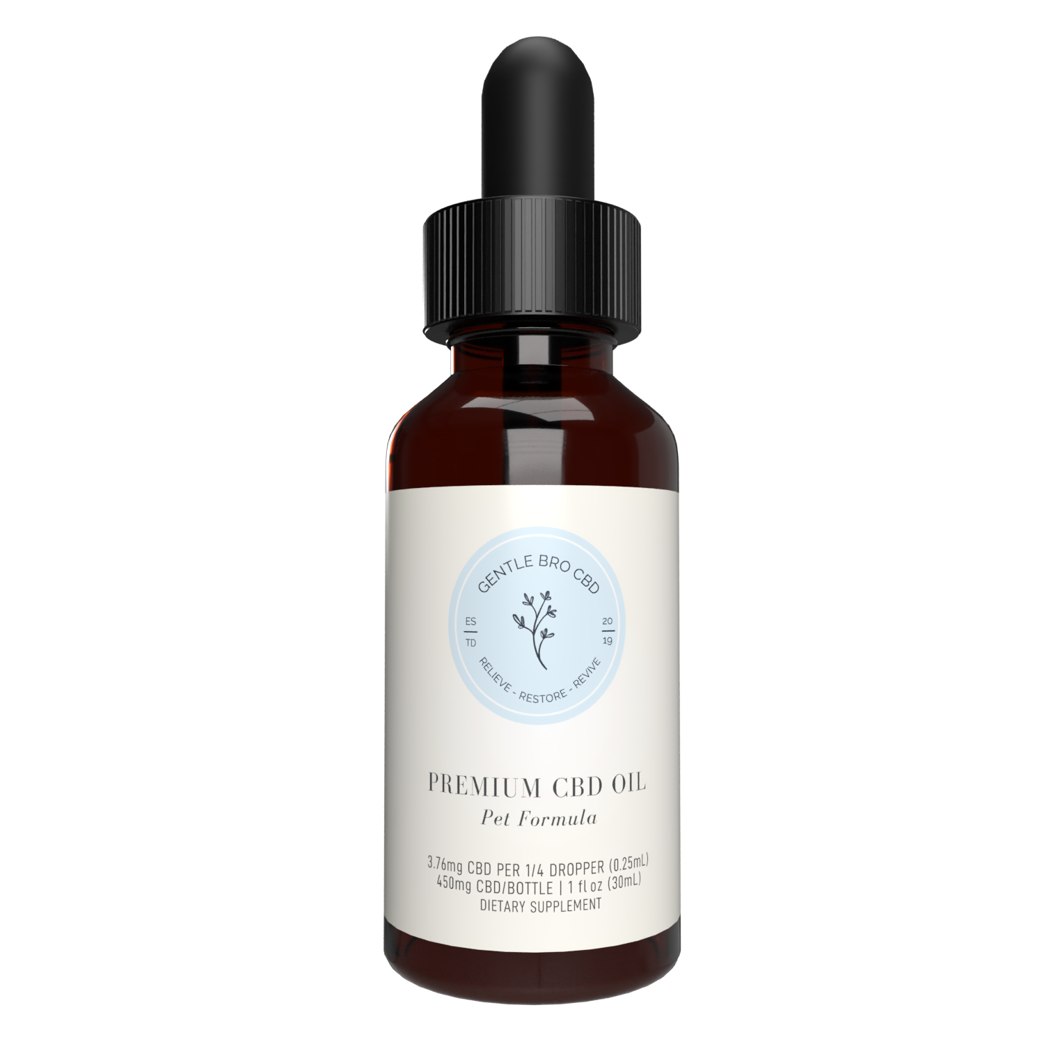 CBD Oil Tincture for Pets - 30ml -450mg