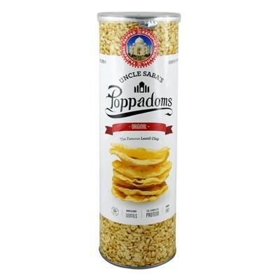 Uncle Saba's Poppadoms 70g - 5 Flavours