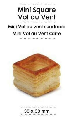 Mini Square Vol Au Vent