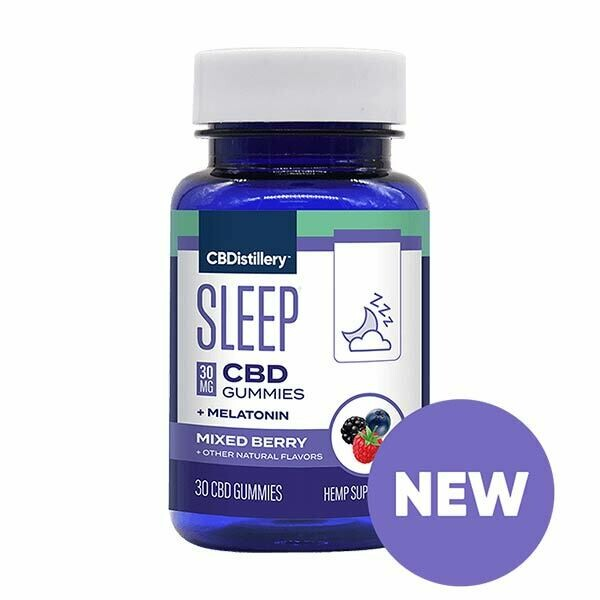 Sleep CBD Gummies + Melatonin
