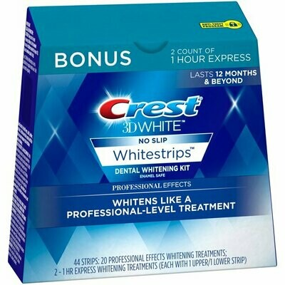 Crest 3D No Slip White Strips