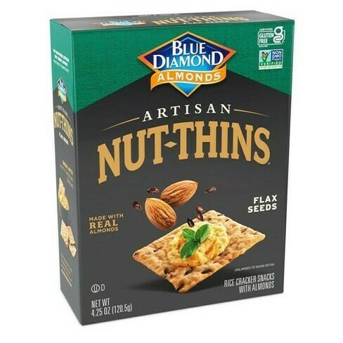 Blue Diamond Artisan - Flax Seeds Crackers 120gms