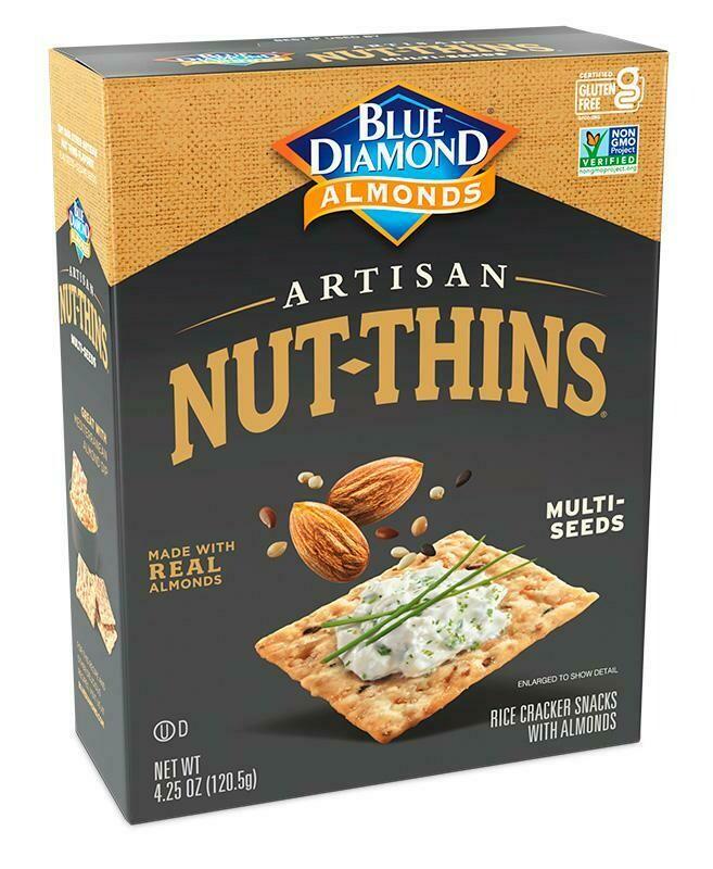 Blue Diamond - Artisan Multi Seeds Crackers - 120gms