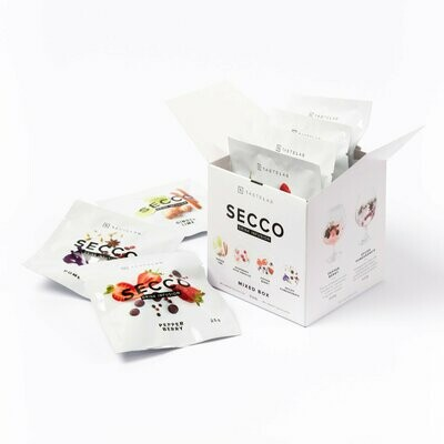 Secco Drink Infusion Mixed Box - 8 Sachets in one Box (2 sachets of each flavor)