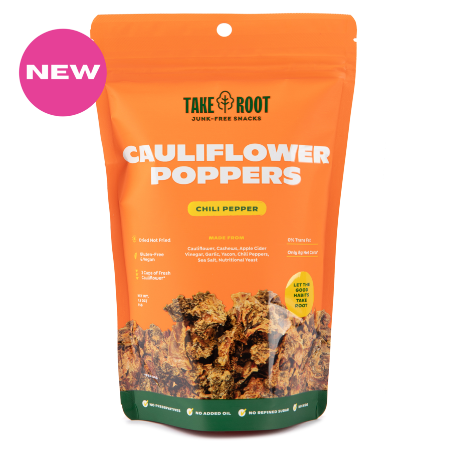 Cauliflower Poppers - Spicy Chilli Pepper 55gms