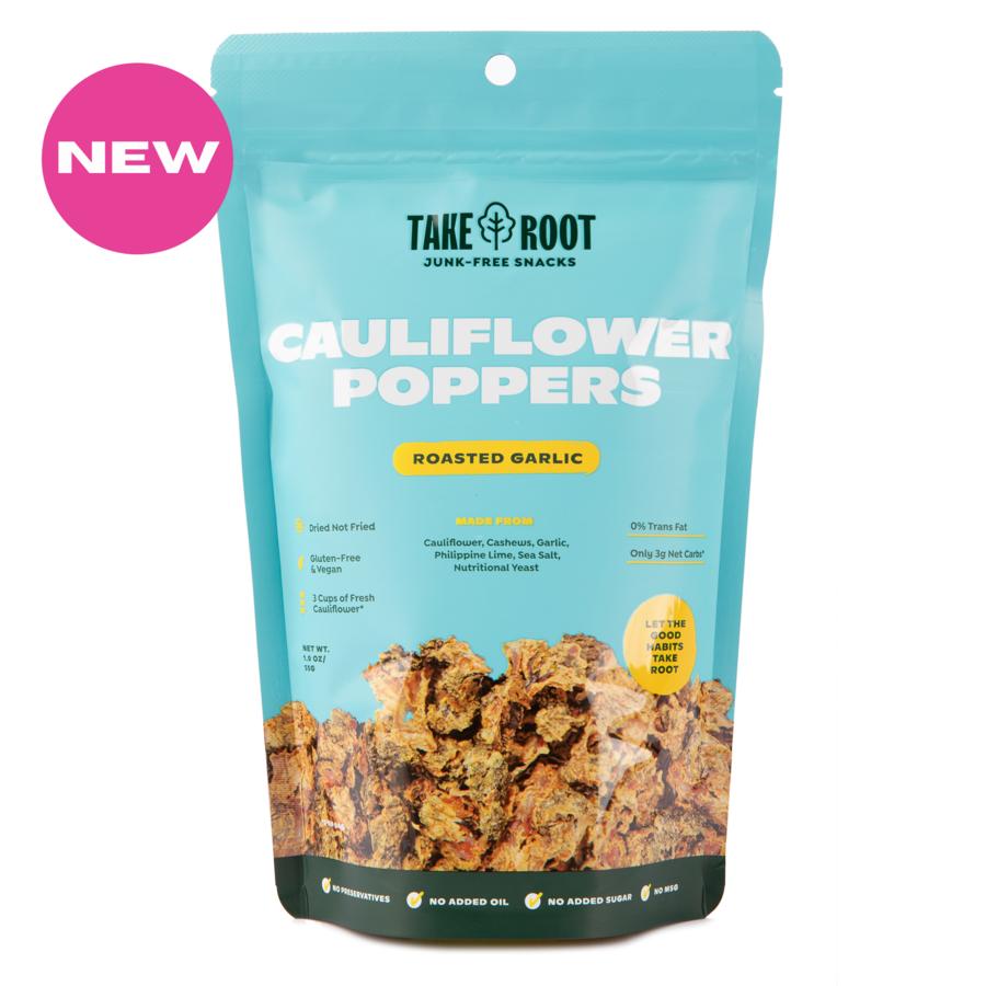 Cauliflower Poppers - Roasted Garlic 55gms