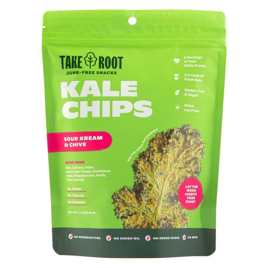 Kale Chips - Sour Cream & Chive 60gms